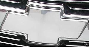 07-08-09-2010-1500-2500-3500-CHEVY-SILVERADO-BowTie-Emblem-FRONT-POLISHED-96195P