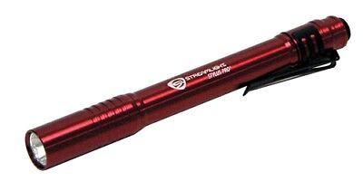 Streamlight 66120 Stylus PRO LED Pen Light Holster Red 100 Lumens Warranty USA Streamlight Stylus Pen Light