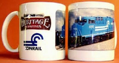 CONRAIL COFFEE MUG /// Cups // Kitchen /// Collectibles