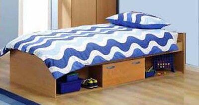 CABIN BED *NEW* STORAGE CHILDRENS KIDS SINGLE R87