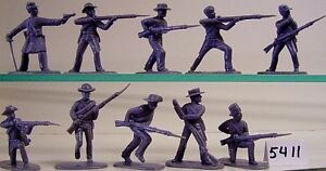 Armies In Plastic 5411 - US Civil War - Confed Infantry