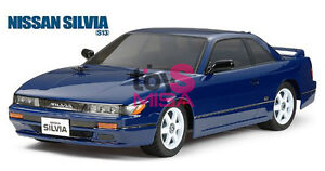 Tamiya 84313 1/10 RC Nissan Silvia S13 Clear Lightweight clear Body Set TAM84313
