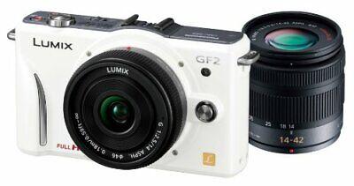 Panasonic Digital Slr Camera Gf2 Double Lens Kit (14Mm / F2.5 Pancake Lens 14-42