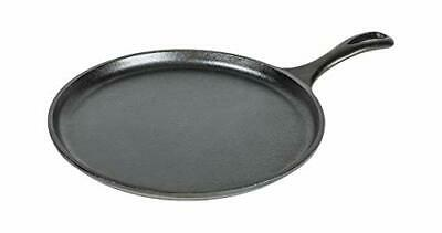 Lodge 17L9OG3 Griddle Cast Iron, 10.5 Inch , Black