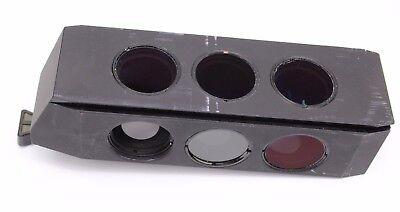 446313 Zeiss Dic Filter Slider Analyzer Polarizer Pol Full Wave Plate Axio