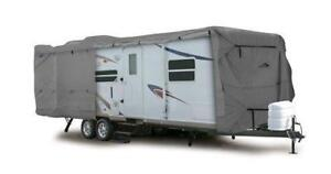NEW Camco 45746 RV 34-Feet Ultra Guard Class C/Travel Trailer Cover, 108-Inch H x 102-Inc