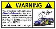 Jimmie Johnson Stickers