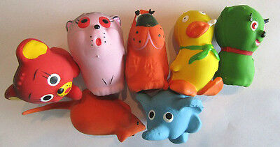 SMALL DOG PUPPY SQUEAKY LATEX DOG TOY X 1 SMALL TOY SQUEAKY SOFT & LIGHT