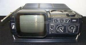 Vintage Sears Solid State Portable Go Anywhere TV AM/FM Radio