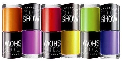 BUY 2 GET 2 FREE  Maybelline Color Show Nail Polish