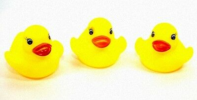 12 x kleine Badeentchen Badeente Schwimmente Mini Ente Quietscheente