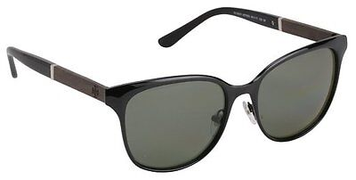 fe91a5bd39 TORY BURCH WOMENS SUNGLASSES TY 6041 30799A BLACK GREEN POLARIZED LENS NEW