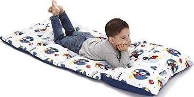 Disney Mickey Mouse Toddler Sleeping Bag Padded Nap Mat Travel PillowCase 2daySH](Disney Kids Sleeping Bags)