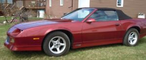 1989 Camaro RS Convertible - Price Reduced