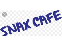 Cafe Manager Required @ Snax Cafe