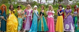 $99 PRINCESS PARTY - FROZEN PARTY ELSA, ANNA, OLAF MASCOT