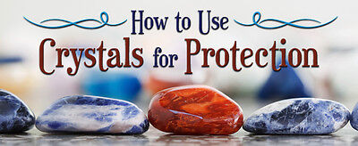 How to Use Crystals for Protection