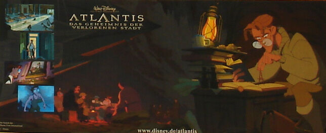 ATLANTIS The Lost Empire - Lobby Cards Set - WALT DISNEY - Animation