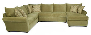 alan WHITE - 5 piece sectional in mint mint condition