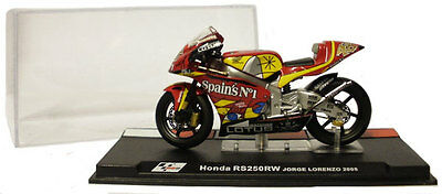 Ixo/altaya Alt32 Honda Rs 250rw 2005 - Jorge Lorenzo 1/24 Scale