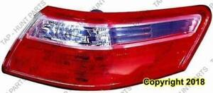 Tail Light Passenger Side Sedan Japan Built Toyota Camry 2007-2009