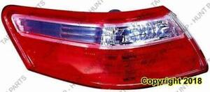 Tail Light Driver Side Sedan Japan Built Toyota Camry 2007-2009