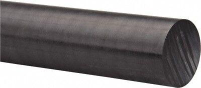 "Delrin Acetal Rod 1 1//4/"" 1.250 Diameter x 10/"" Long Black Superior Wear Durable"