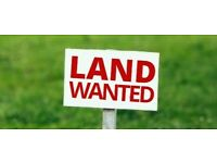 Plot of land wanted