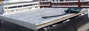8ft aluminum deck