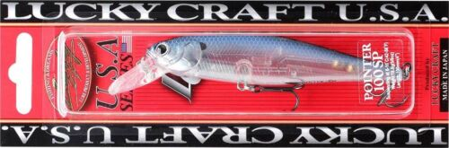 LUCKY CRAFT Pointer 78-237 Ghost Blue Shad