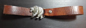 Vintage belt with collectable Grizzly buckle Kingston Kingston Area image 1