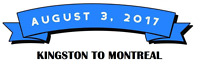 August 3rd - Kingston to Montreal