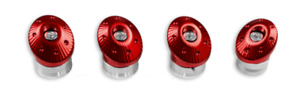 Ducati Monster R CNC Frame Plug Kit Red 97380661A