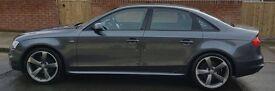 2014 Audi A4 Saloon 2.0 TDI 6 Sp Manual S-Line Black Edition