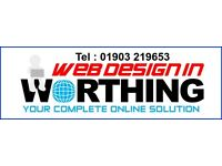 Web Design In Worthing is for the small local business who require a low cost web presence