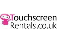 Man/ Woman and Van for Touchscreen Collections London and UK