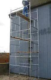 BRAND NEW SCAFFOLD TOWER - QUALITY BRITISH MADE - GALVANISED STEEL