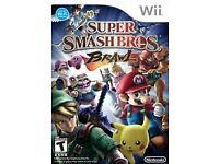 Wii Super Smash Bros Brawl game