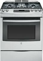 SELECTION OF GE GAS SLIDE IN STOVES-ONE WEEK CLEARANCE SPECIAL!