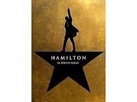 Hamilton Tickets Stalls Row C