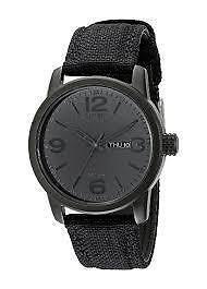 Citizen Men's Black Canvas Strap Eco Drive Watch  BM8475-00F