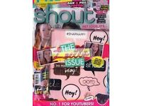 WANTED! SHOUT, SUGAR, BLISS Magazines