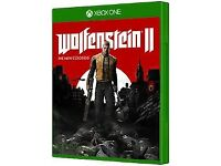 Brand New & Sealed Wolfenstein 2 The New Colossus XBOX ONE game