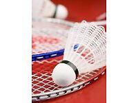 Badminton Club looking for new members