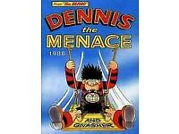 Beano Dennis The Menace Annual 1988