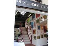 Artist Studio For Rent - West London - Kew, Brentford, Chiswick Borders