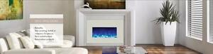 "Amantii Electric Insert Fireplace in 3 Sizes - 26, 30 & 33"" ( Appox heating ares is 400-500 sq ft )"