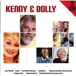 KENNY ROGERS  & DOLLY PARTON  on 2 CD's  - NEW -
