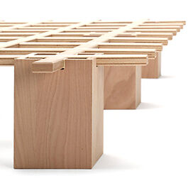 tojo system bett 140cm bio bett g stebett bettsystem roy sch fer sofort ab lager ebay. Black Bedroom Furniture Sets. Home Design Ideas