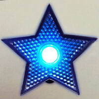 LED Blinking Blue Star Clip